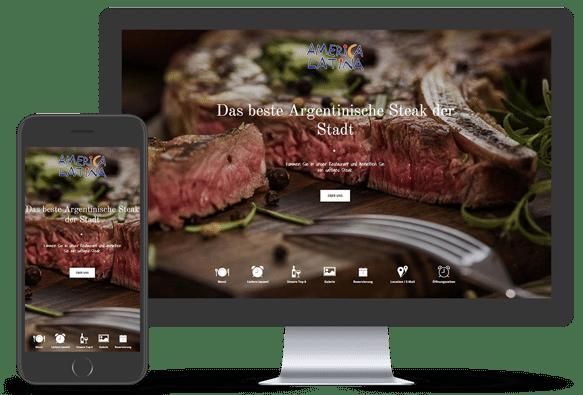 Webdesign Beispiel Restaurant