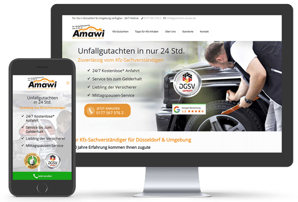 Gutachten Amawi Webdesign