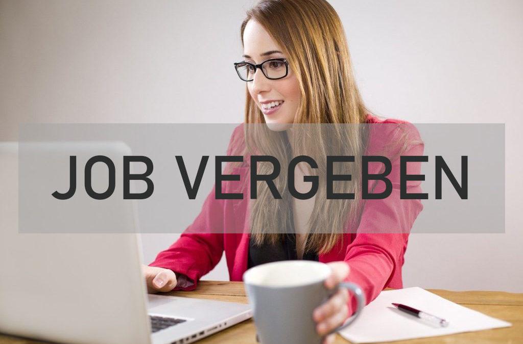 Virtuelle Assistentin - Job vergeben